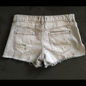 Free People Shorts - Free People Jean shorts size 25